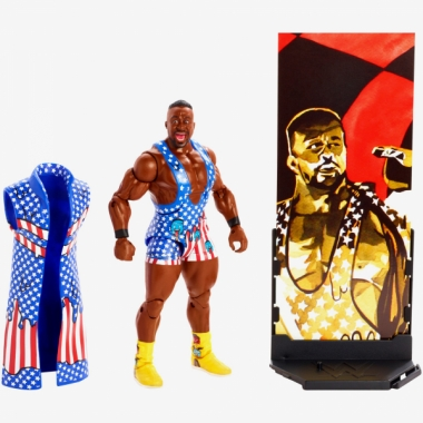 Figurina WWE Big E Elite 61, 18 cm