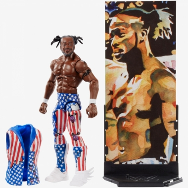 Figurina WWE Kofi Kingston Elite 60, 18 cm