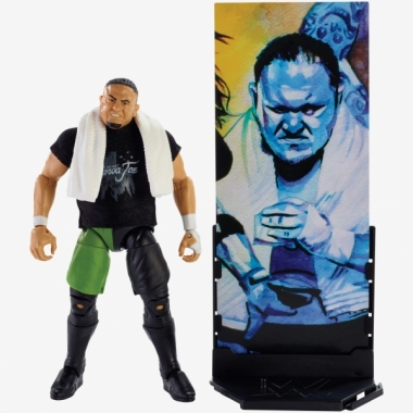 Figurina WWE Samoa Joe Elite 56, 18 cm