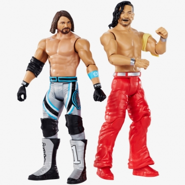 "AJ Styles & Shinsuke Nakamura WWE Battle Packs ""WrestleMania 35"""