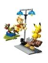 Pokemon Mega Set Constructie Pikachu vs. Chimchar 127 piese