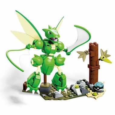 Pokemon Mega Set Constructie Super-Sized Scyther 13 cm (Aprilie)