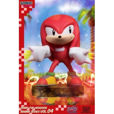 Sonic The Hedgehog BOOM8 Series Figurina  PVC Vol. 04 Knuckles 8 cm