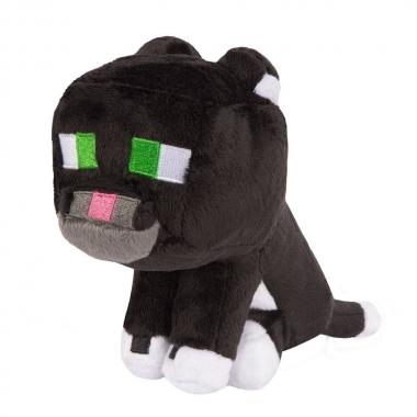 Minecraft, Jucarie de Plus Tuxedo Cat 20 cm