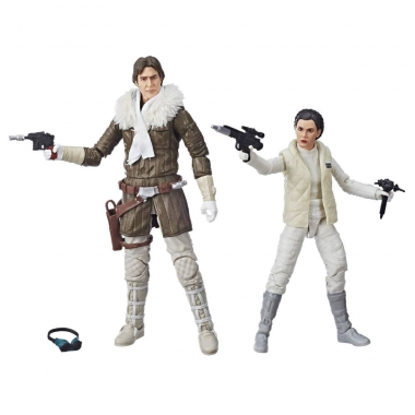 Star Wars Leia & Han (Hoth) Convention Exclusive 15 cm