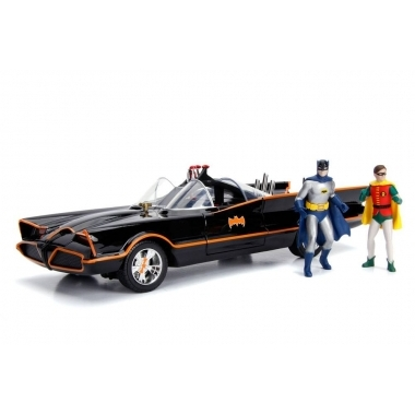 Masina Batman Diecast Model 1/18 1966 Batmobile cu lumini