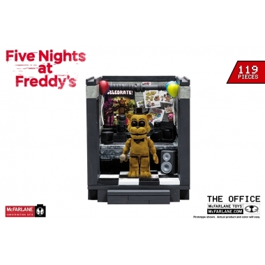 FNAF The Office- Set constructie 119 piese