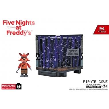 FNAF Pirate Cove - Set constructie 94 piese