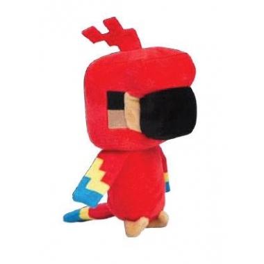 Minecraft Happy Explorer Jucarie plus Parrot 18 cm