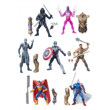 Marvel Legends Avengers 2019 BAF: Thanos, Set 7 figurine 15 cm