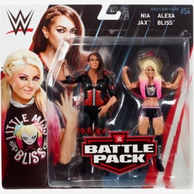 Alexa Bliss & Nia Jax - WWE Battle Packs 54
