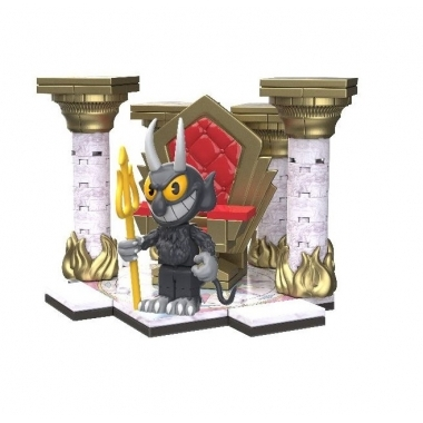 Set Constructie Cuphead Small Devil's Throne 100 piese (Septembrie)