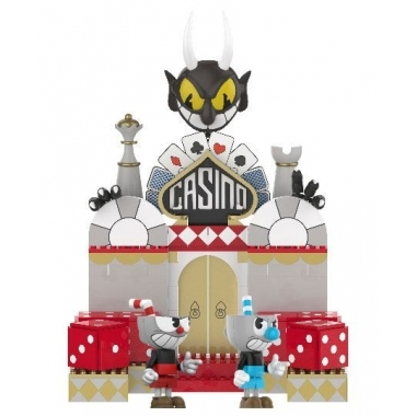 Cuphead Chaotic Casino Set Constructie 210 piese