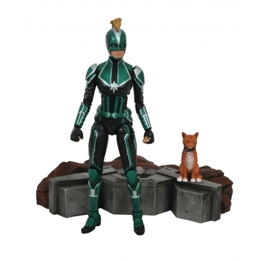 Captain Marvel Figurina Marvel Select Captain Marvel Starforce Uniform 18 cm