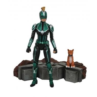 Captain Marvel Figurina Marvel Select Captain Marvel Starforce Uniform 18 cm