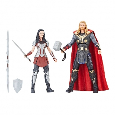 Thor: The Dark World Marvel Legends Series  Set 2 Figurine Thor & Sif 15 cm