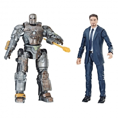 Iron Man Marvel Legends Series Set 2 Figurine Tony Stark & Iron Man Mark I 15 cm