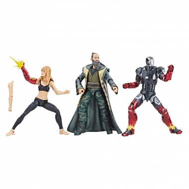 Iron Man 3 Marvel Legends Set 3 Figurine Pepper, Mark XXII & Mandarin 15 cm