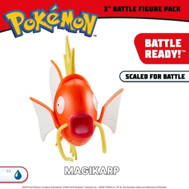 Pokemon, Magikarp figurina articulata 7 cm
