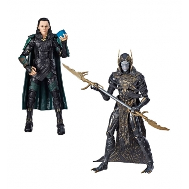 Marvel Legends Set 2 figurine Corvus Glaive & Loki (Avengers: IW) 15 cm