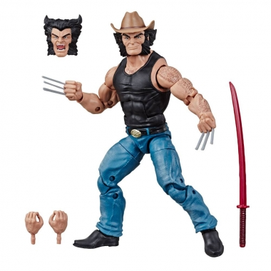 Marvel Legends 80th Anniversary Figurina Cowboy Logan 15 cm