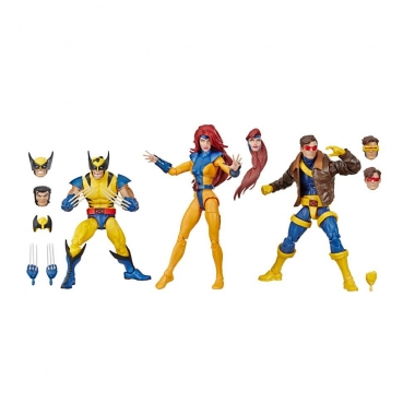 Marvel Legends 80th Anniversary 3-Pack X-Men Wolverine, Jean Grey & Cyclops 15 cm (ianuarie 2020)