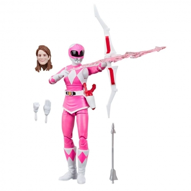 Power Rangers Lightning Collection Mighty Morphin Pink Ranger 15 cm