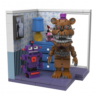 FNAF Right Dresser & Door Set constructie 66 piese