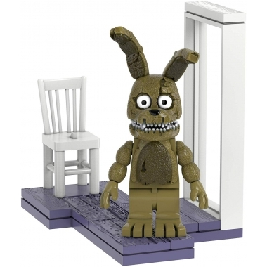 FNAF Fun with Plushtrap  Set Constructie 29 piese (august)