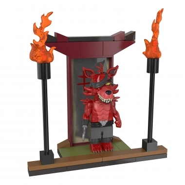 FNAF Temple of the Fox Set Constructie 41 piese (august)