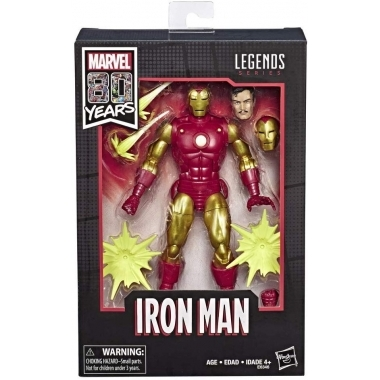 Marvel Comics 80th Anniversary Marvel Legends Iron Man 18 cm
