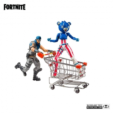 Fortnite  Shopping Cart Pack War Paint & Fireworks Team Leader 18 cm