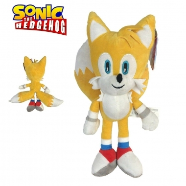 Sonic The Hedgehog,  Jucarie Plus Tails 30 cm (SEGA)