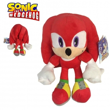 Sonic The Hedgehog,  Jucarie Plus Knuckles 30 cm (SEGA)