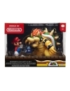 World of Nintendo Mario vs. Bowser Lava Battle 6-15 cm