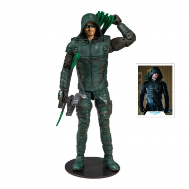DC Multiverse, Figurina articulata Green Arrow  18 cm