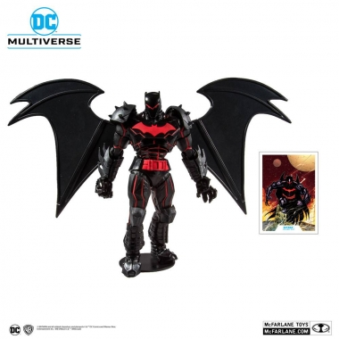 Batman & Robin Batman (Hellbat Suit) 18 cm