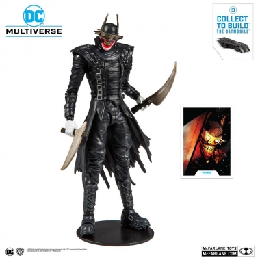 Dark Nights: Metal The Batman Who Laughs 18 cm  (build a batmobile)