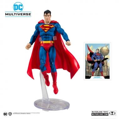 DC Rebirth, Figurina articulata Superman (Modern) 18 cm (mai 2021)
