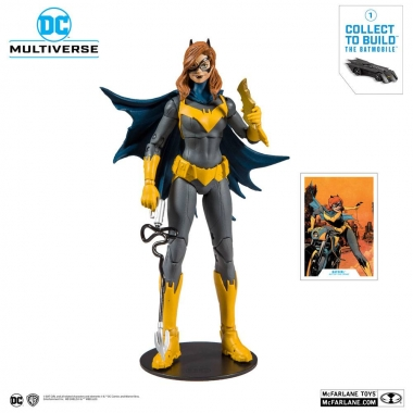 DC Rebirth Batgirl (Art of the Crime) 18 cm (build a batmobile)