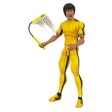 Figurina Bruce Lee  Yellow Jumpsuit 18 cm