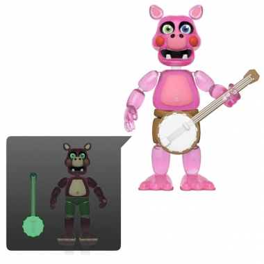 Five Nights at Freddy's Pizza Simulator Figurina Pig Patch (Translucent) 13 cm