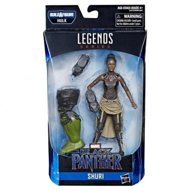 Avengers: Endgame Marvel Legends Shuri (Hulk BAF)