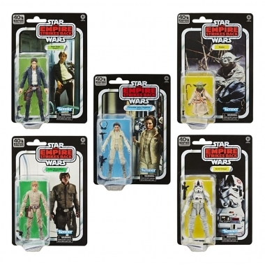 Star Wars Episode V Black Series 15 cm 40th set 5 figurine Anniversary 2020 Wave 1 (iunie)
