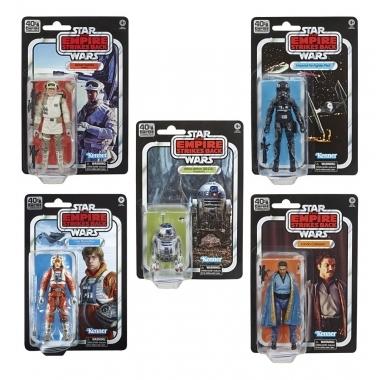 Star Wars Episode V Black Series Set 5 figurine 15 cm 40th Anniversary 2020 Wave 2 (Iulie)