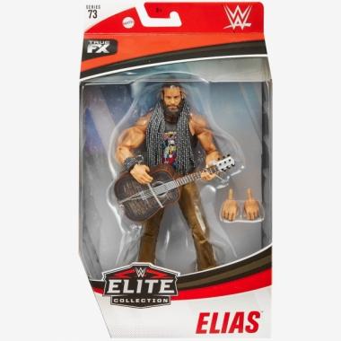 Figurina articulata WWE Elias Elite 73, 17 cm