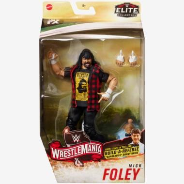 Mick Foley WWE Elite WrestleMania 36, 17 cm