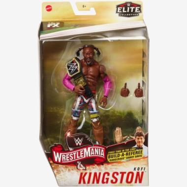 Kofi Kingston WWE Elite WrestleMania 36, 17 cm
