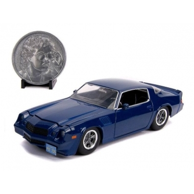 Stranger Things Billy's 1979 Chevy Camaro Z28, macheta auto 1:24