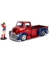 DC Bombshells 1952 Chevy COE cu figurina, macheta auto 1:24